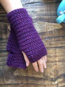 mitts-purple