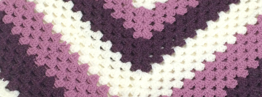 Kid's Basic V Crochet Poncho