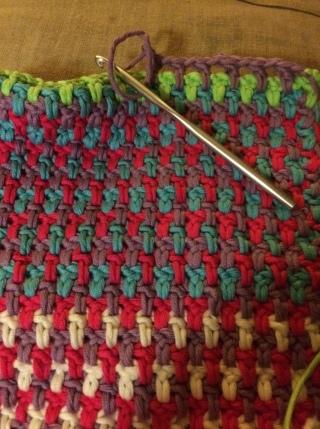 Crochet Baby Sunshine Blanket by Wool Monkey