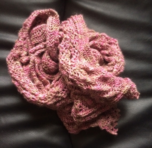 Honley Lace Knitted Scarf