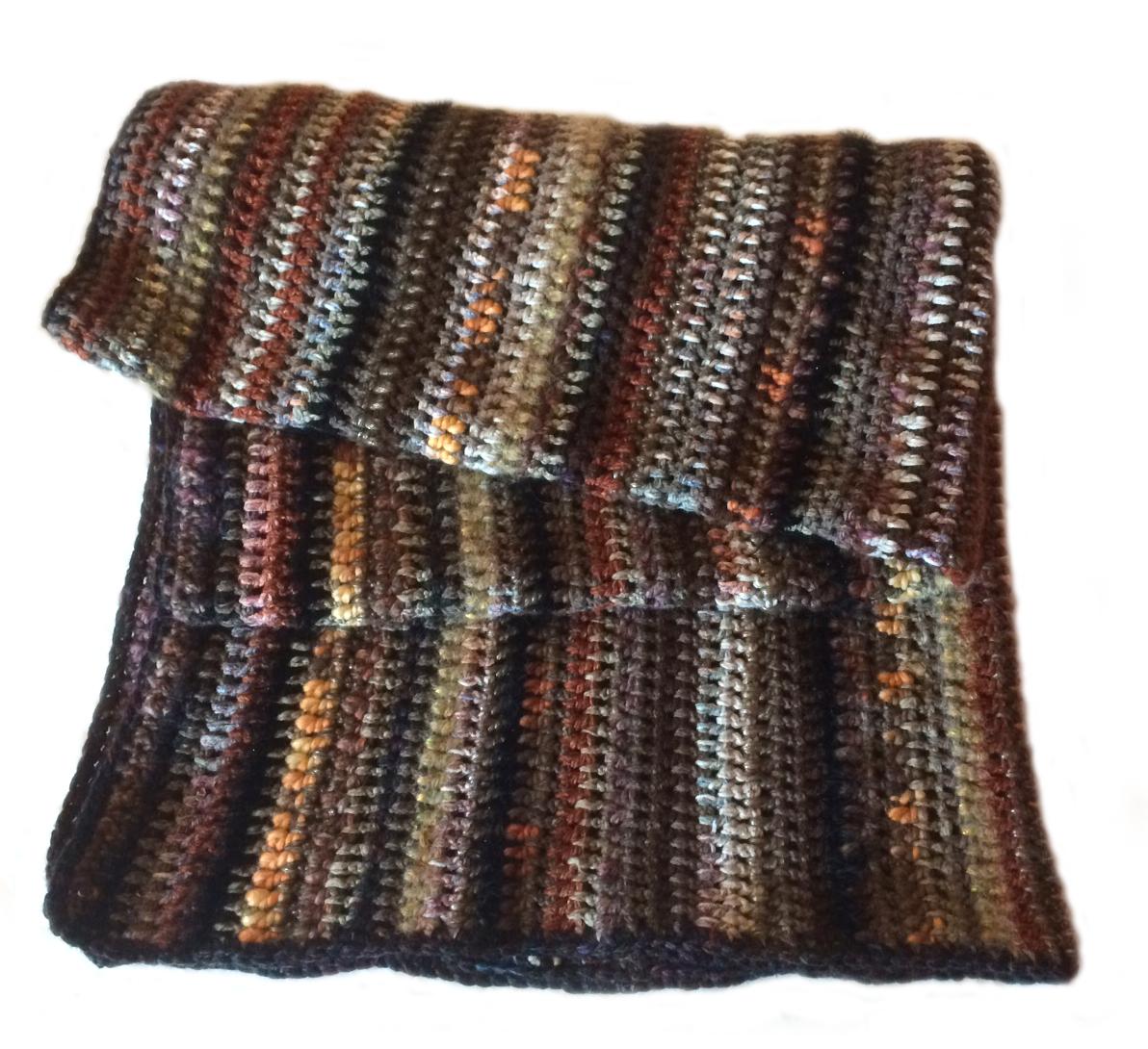 Wool Monkey Crochet Spice Blanket Free Pattern