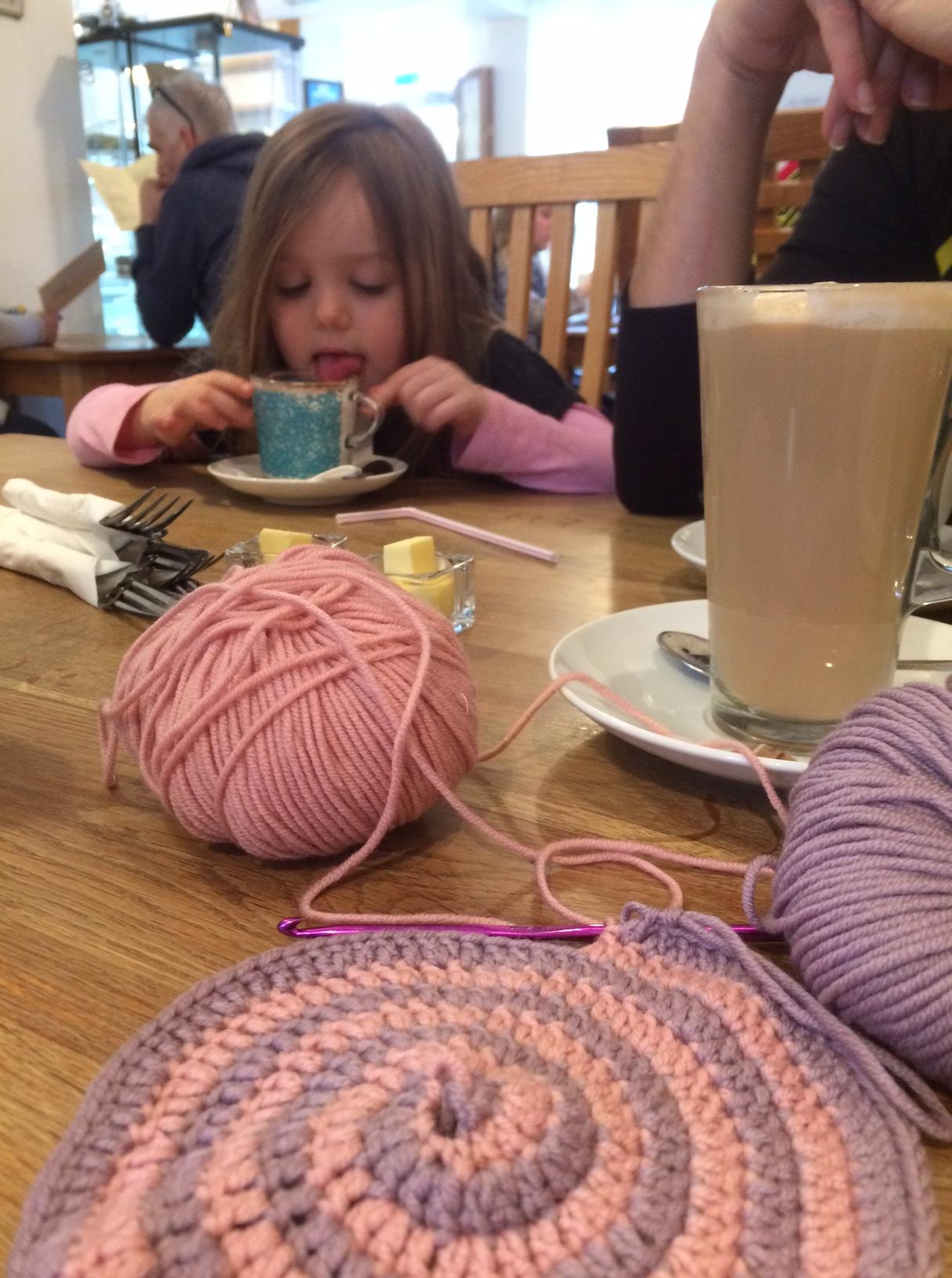Crochet Spiral Blanket