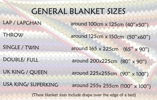 Standard Blanket Sizes